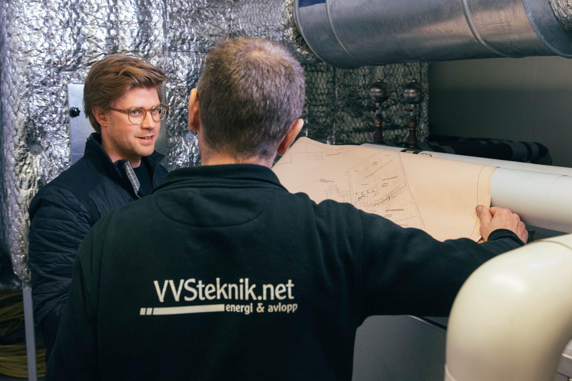 Rörinspektion & infodring - VVSteknik